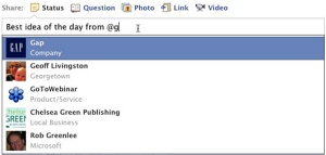 tagging-Facebook-Page